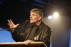 Franklin Graham's first event in Northern Ireland marked the area's largest evangelistic event in 47 years. The Celebration of Hope was held April 2 – 4, 2008, in Belfast.