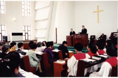 Franklin Graham preached at the Bongsu Protestant Church when he visited North Korea in 2000.