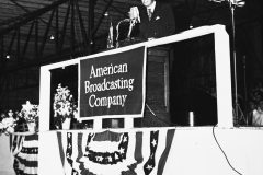 "The ""Hour of Decision"" weekly radio program is first broadcast live from the Atlanta Crusade on Nov. 5, 1950. It aired around the world for more than 60 years."