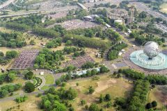 At 86 years old, Billy Graham conducts his final Crusade in New York's Flushing Meadows Corona Park, June 24-26, 2005. More than 230,000 people attend during the three days.