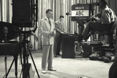 Billy Graham pioneers the use of TV specials in the 1950s, when Cliff Barrows and George Beverly Shea join him in producing a 30-minute program using the KTTV studios in Los Angeles (now KABC).