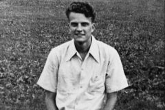 "As a teenager in the early 1930s, Billy Graham prefers baseball to religion, recalling later that he ""detested going to church."" That changes in 1924 when he commits his life to serving Jesus Christ at a revival led by traveling evangelist Mordecai Fowler Ham."