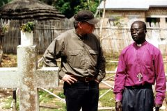 Franklin Graham with a Sudanese pastor.