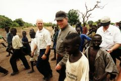 Franklin Graham in Sudan.