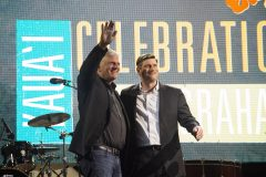 Franklin and Will Graham at the Kaua`i Celebration with Will Graham in May 2019. It marked the first time that both generations shared the stage at a Will Graham Celebration.