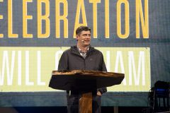 Evangelist Will Graham shared the Gospel and invited the audience to begin a relationship with Jesus Christ at the Kaua`i Celebration with Will Graham in May 2019.