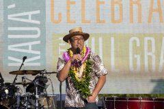 Mayor of Kaua`i, Derek Kawakami, addressed the crowd on the closing night of the Kaua`i Celebration with Will Graham in May 2019.