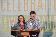 Will Graham's wife, Kendra, joined him at the Kaua`i Celebration with Will Graham in May 2019. While on the island, Kendra spoke to and encouraged hundreds of women at a Bible study.