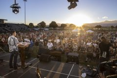 Approximately 600 people responded to the invitation to commit their lives to Christ at the Kaua`i Celebration with Will Graham in May 2019.