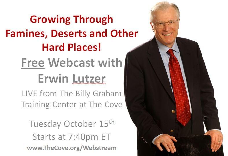 Erwin Lutzer Webcast October 15 2013