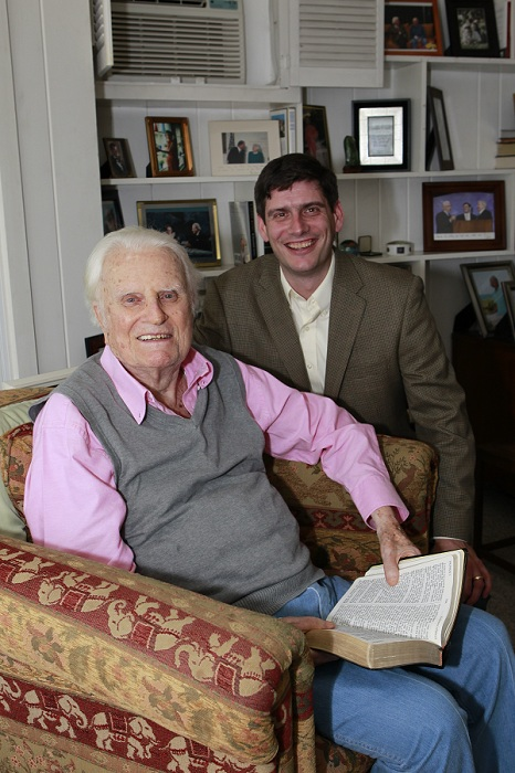 Wil and Billy Graham 2013 small