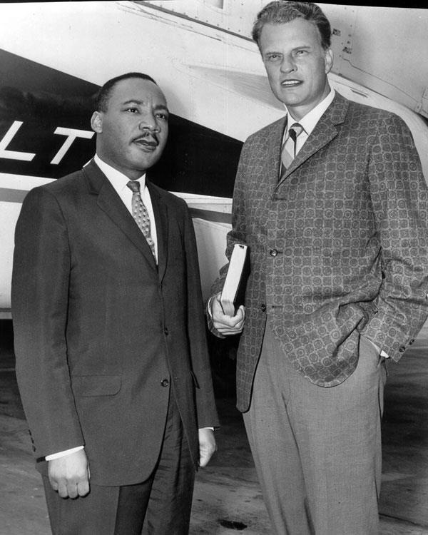 Billy and Martin Luther King Jr