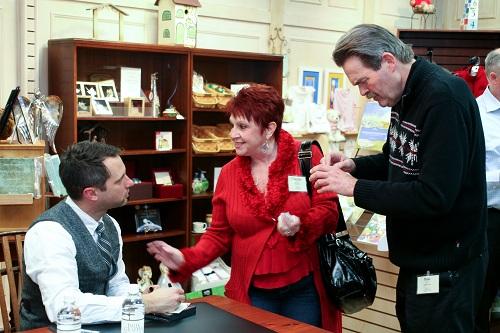 Brandon Heath meet and greet 2013 small