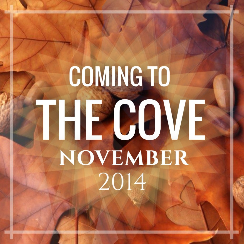 Coming to the Cove November