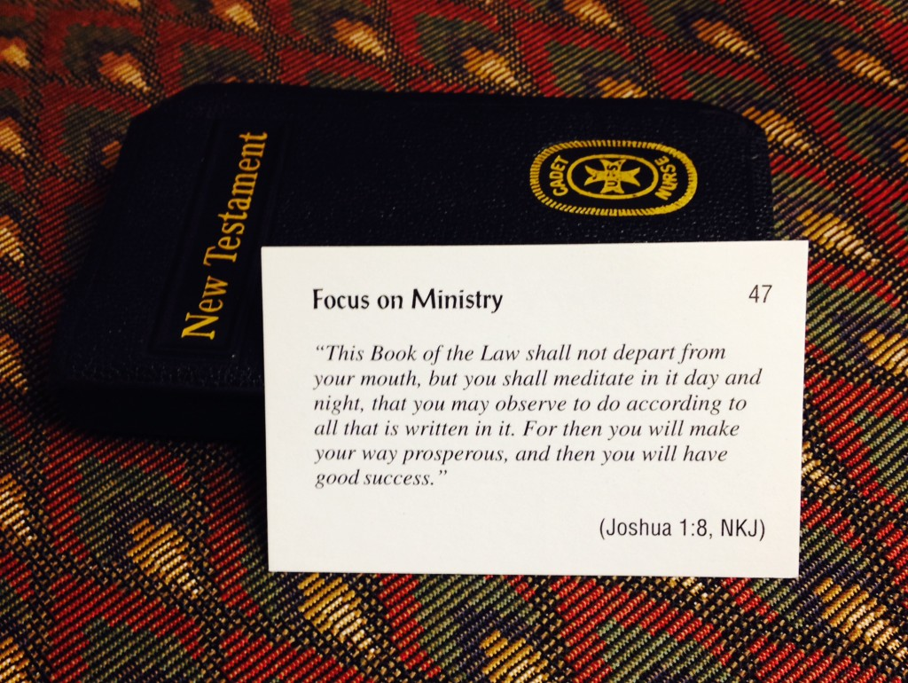 Focus on Ministry Card 47