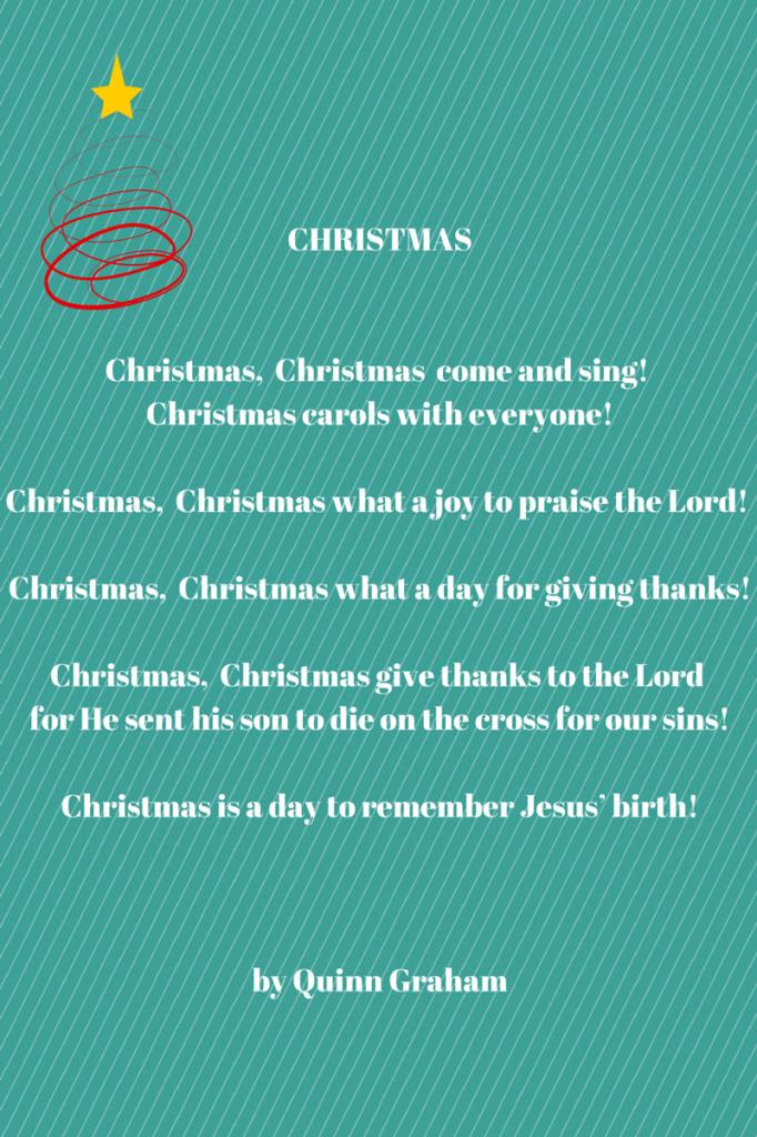 Quinn Christmas Poem