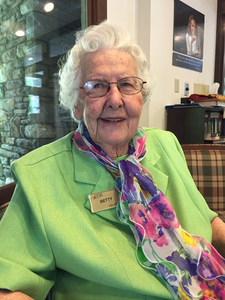 Betty chapel Volunteer 92 on April 30 2015