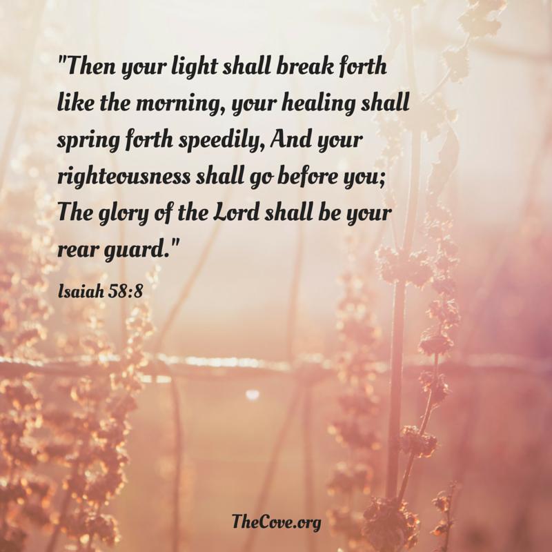 Isaiah 58 8