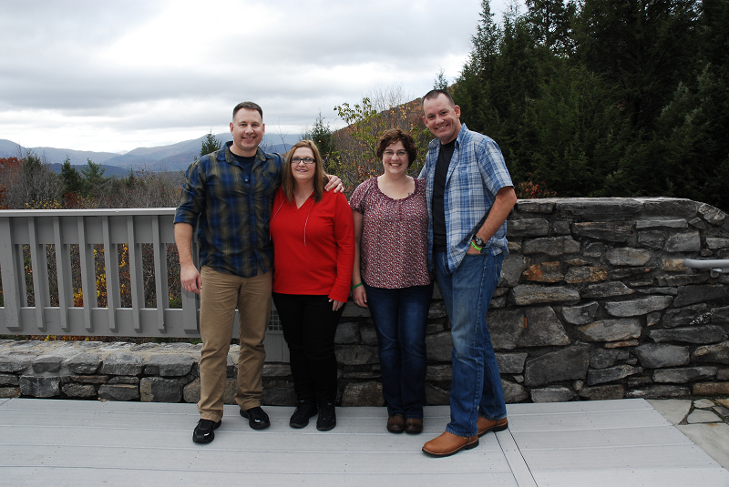 Couples from Roseburg Oregon at National Law Enforcement Retreat Oct 2016 sm for blog