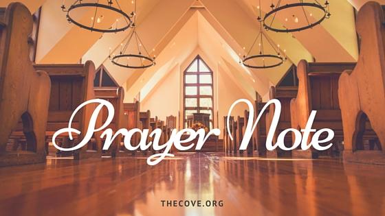 Prayer Note(3)