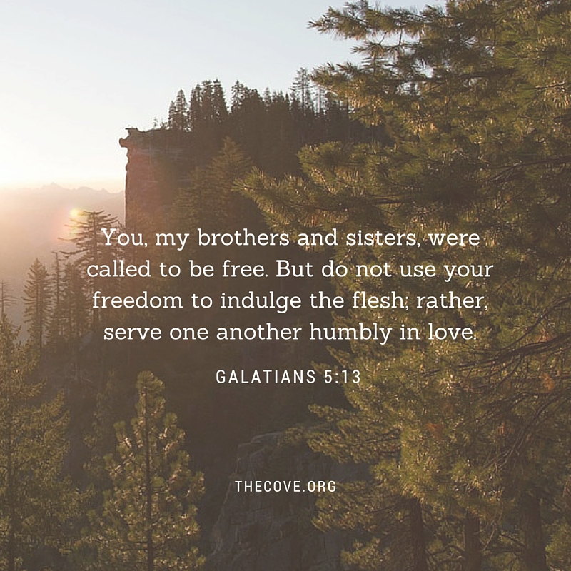 June 3 Galatians 5 13