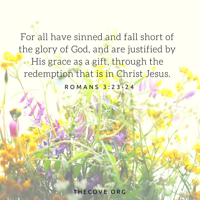 Romans 3 23 24 ESV