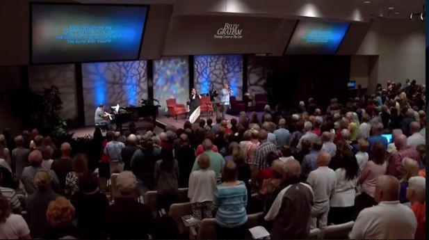 Selah leading worship