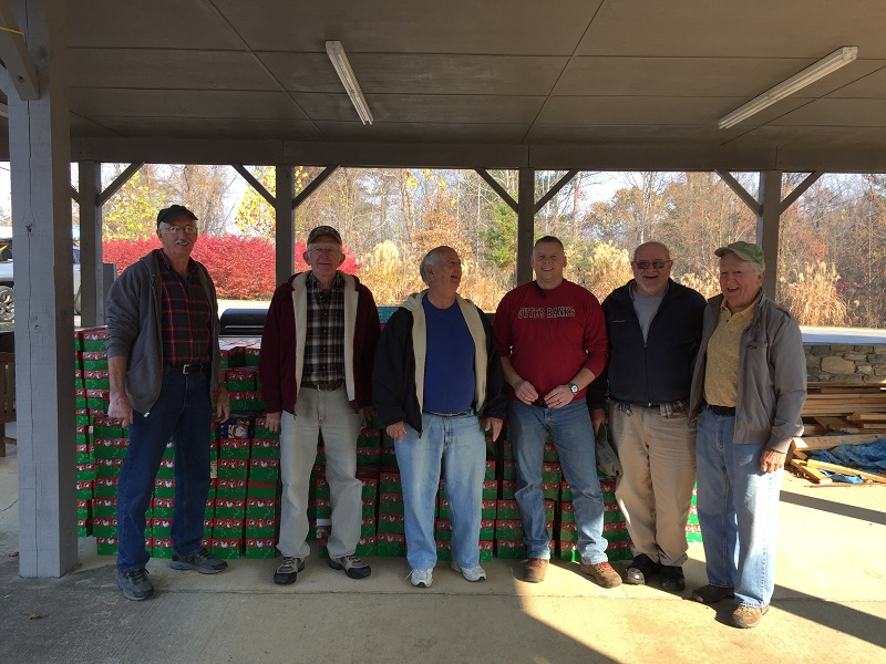 901 boxes dropped by 1st baptist church of swannanoa their goal was 600 2016