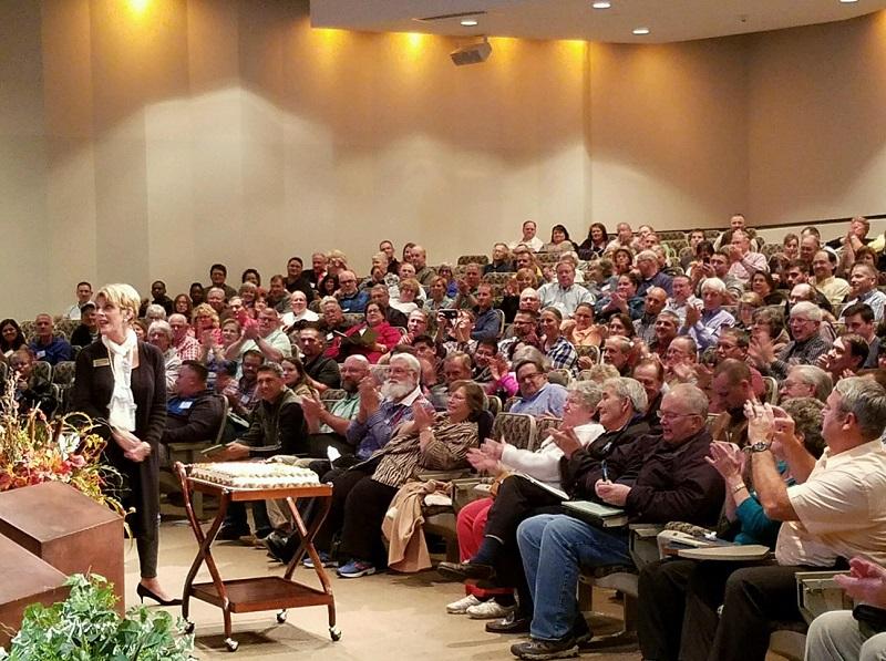 Billy Graham 98 birthday Gigi and pastors singing happy birthday 11 7 16