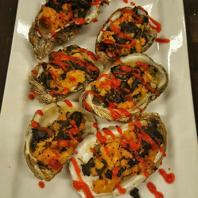 Oysters Rockafeller
