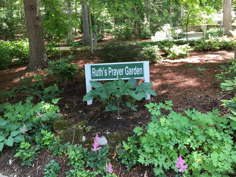 Ruths Prayer Garden June 2017 sign sm