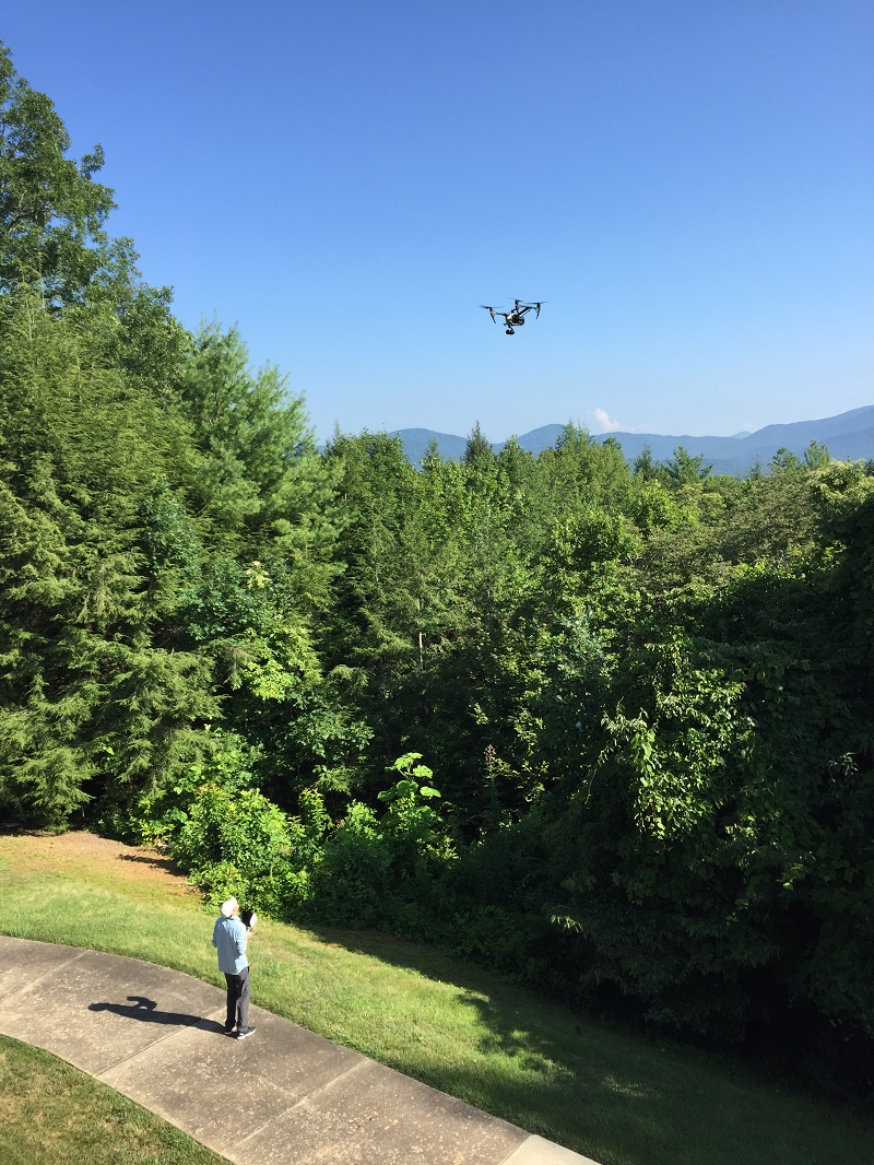 GG video promo shoot drone off back deck sm