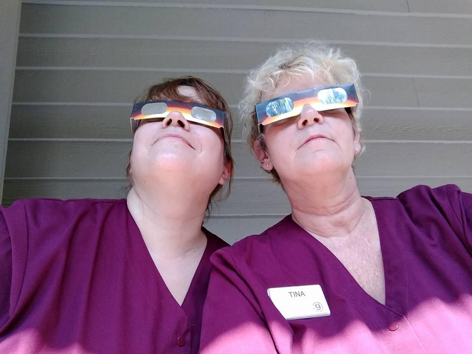 Tina Bishop housekeeping eclipse