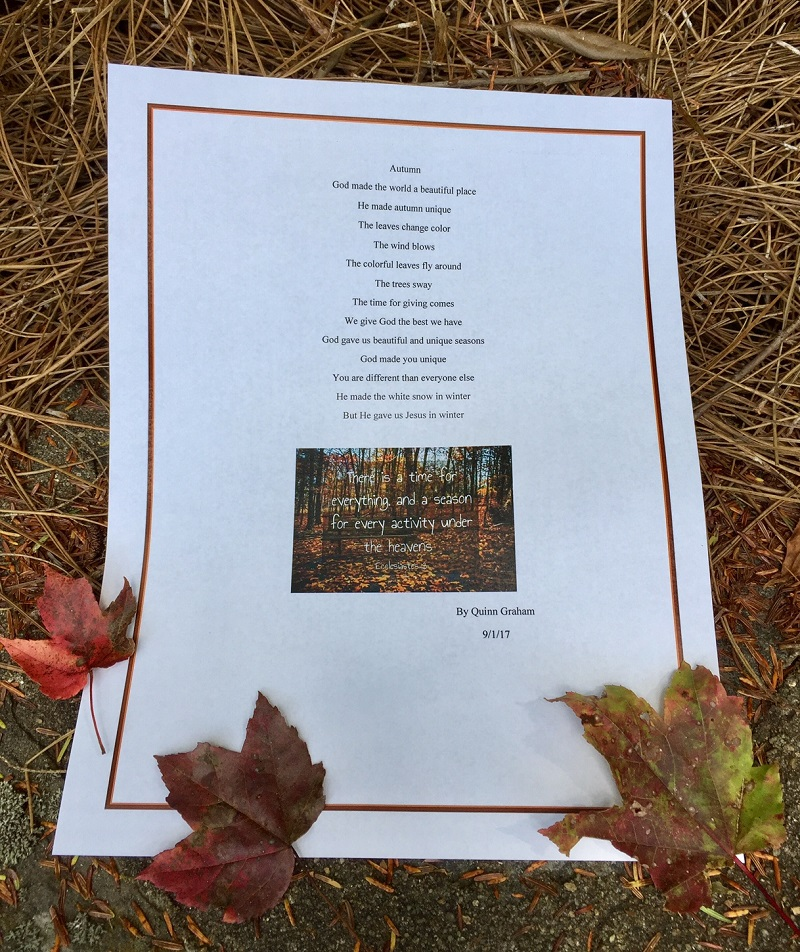 Blog Size Image of Autumn Psalm By Quinn September 2017