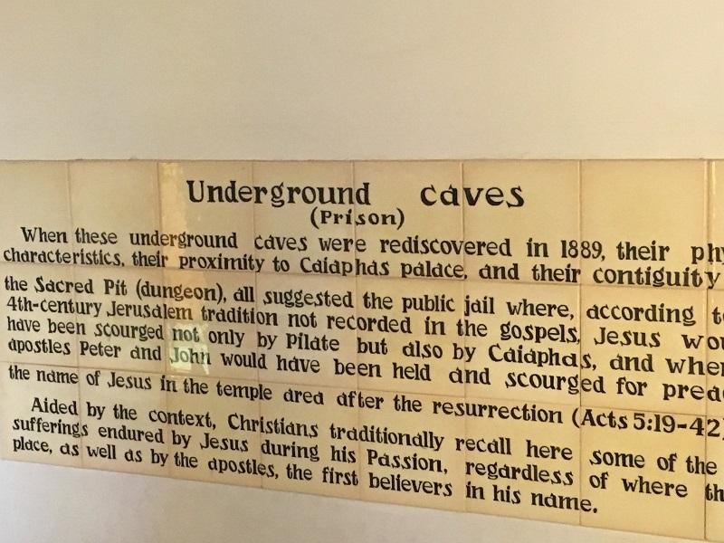 Underground cave info