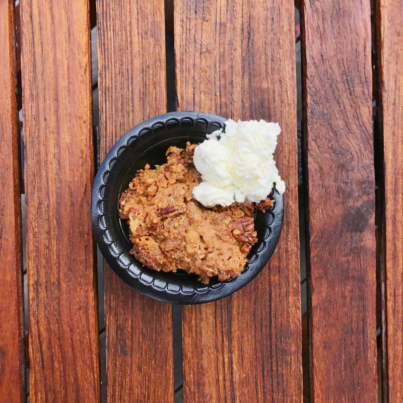 Baked Good (Warm Pumpkin Cake)
