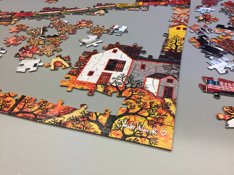 Puzzle in the Fall