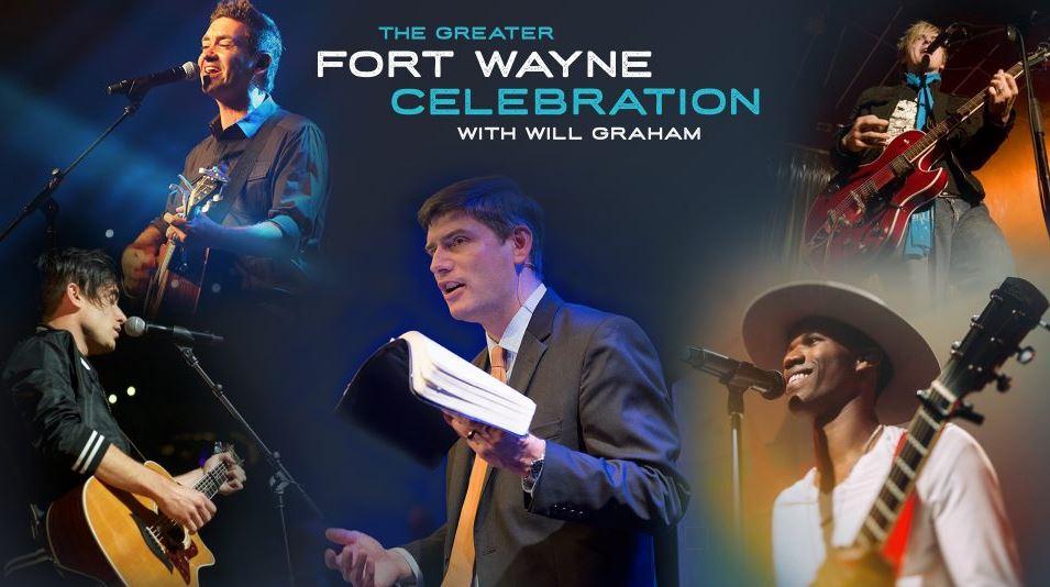 Will Graham Fort Wayne Indiana Celebration