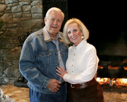 Cliff Barrows and Ann