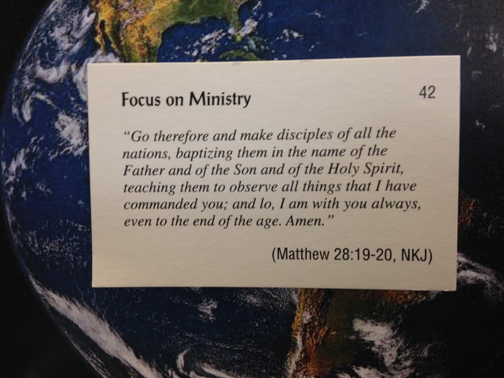 Scripture for 10 21 13