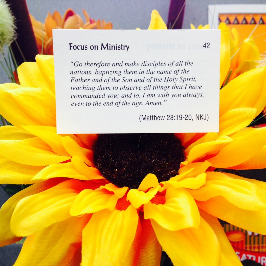 Focus on Ministry Card 42