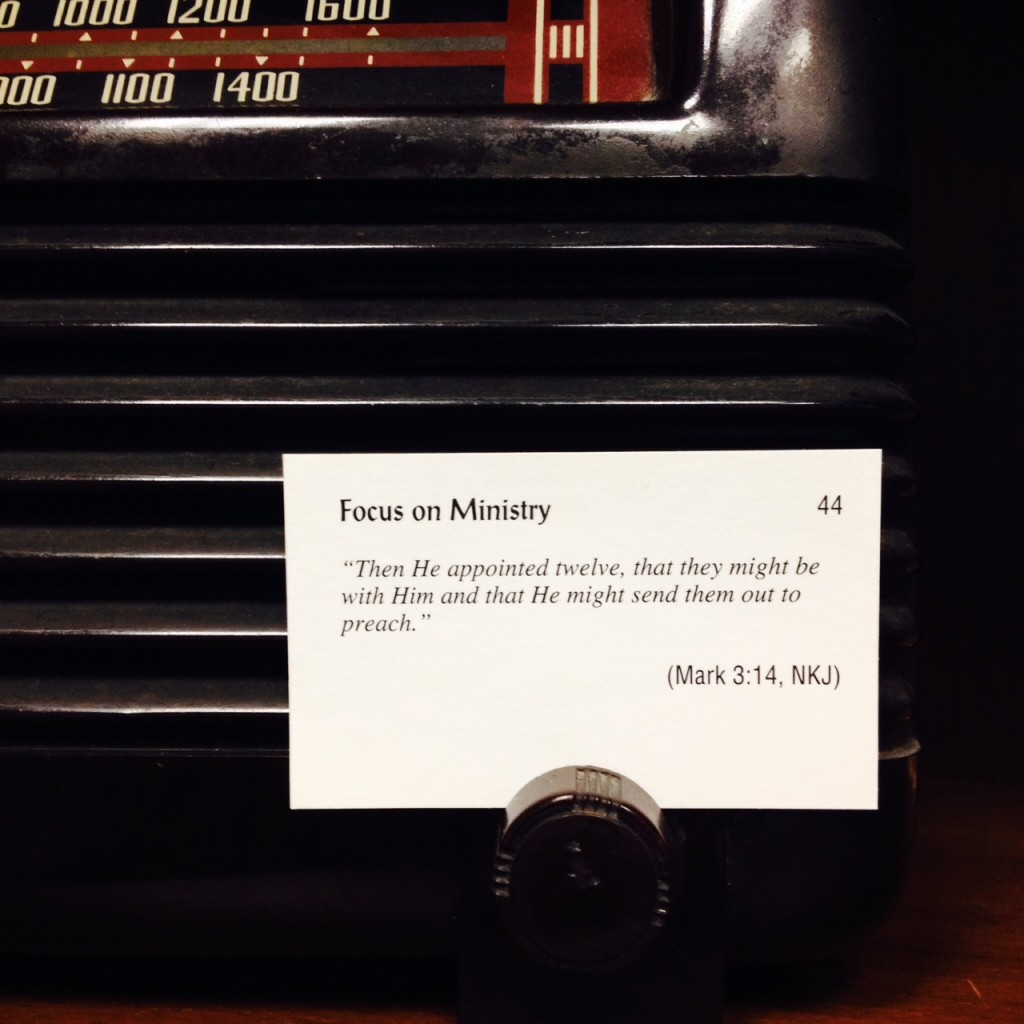 Focus on Ministry Card 44