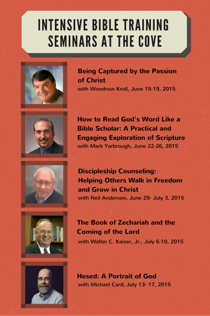 intensive bible training Seminars at The