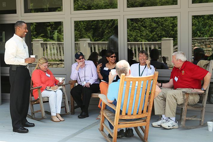 chaplains from RRT on TC deck outside June 2015