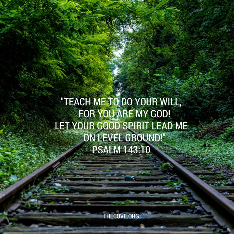 psalm 143 10 june 22