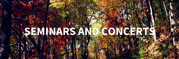 SEMINARS AND CONCERTS