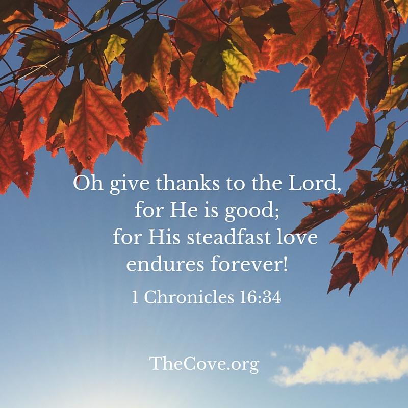 1 Chronicles 16 34