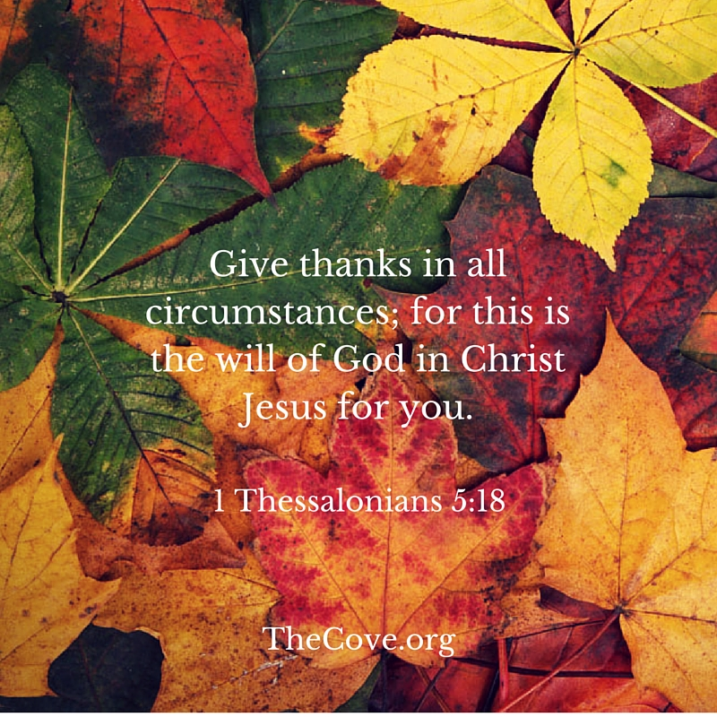 1 Thessalonians 5 18