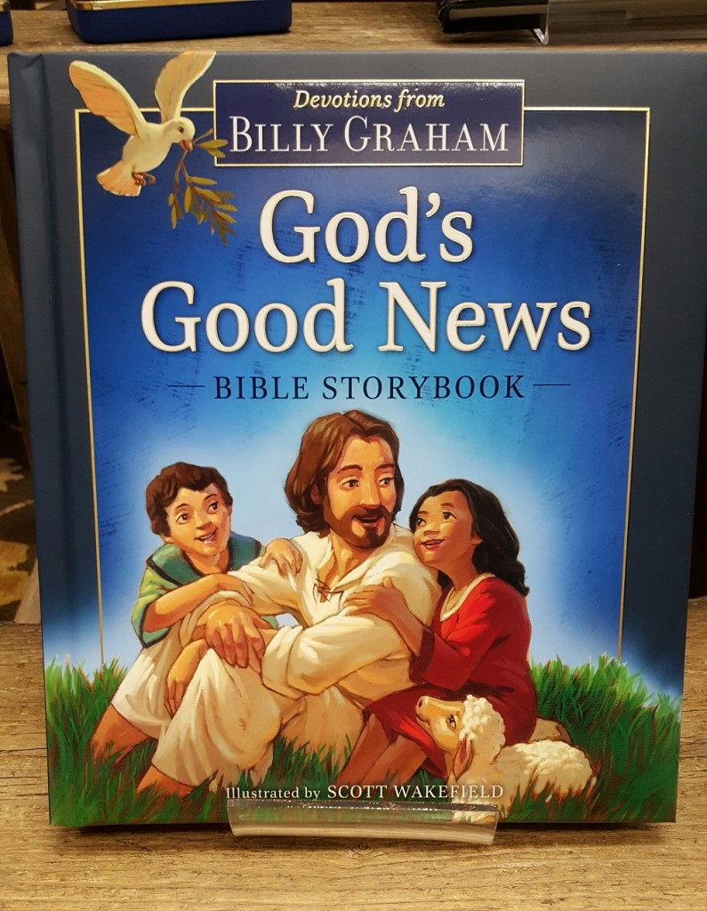 God's Good News by Billy Graham, Children's book $19.99.