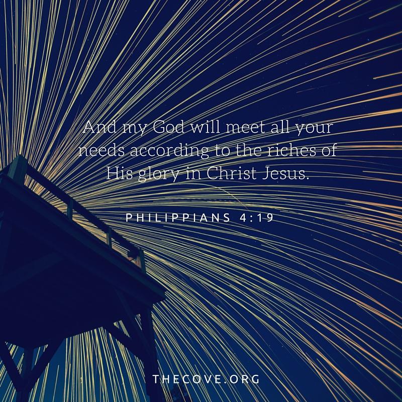Philippians 4 19 ESV